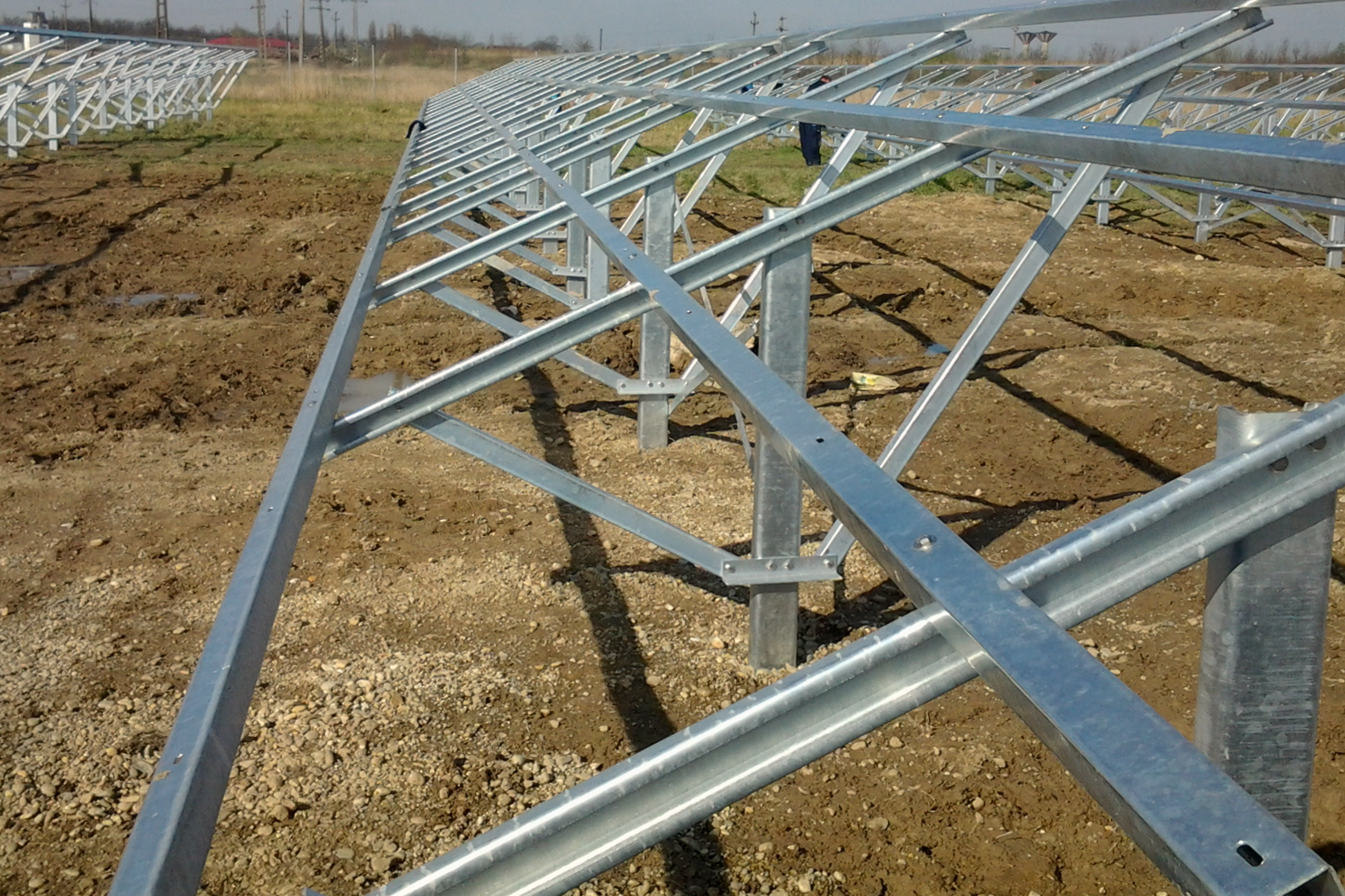 Solarcorner Sol Steel Ground Mount System Sms Metering