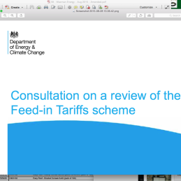 Feed-in-Tariff NEWS